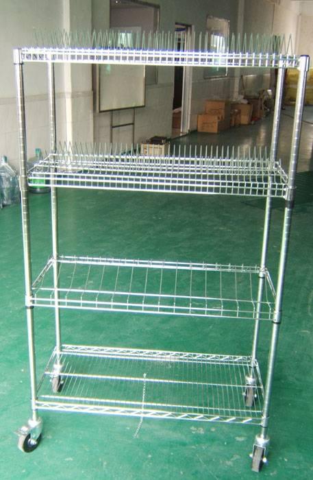 antistatic trolley SMT Reel Shelving Trolley esd smt reel storage cart