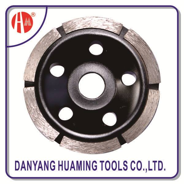 diamond single row cup grinding wheel