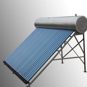 Stainless Steel Compact Pressurized solar water heater