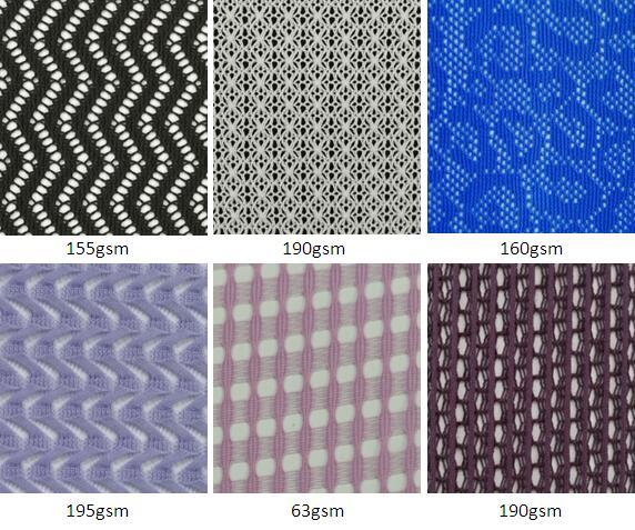 Fashion garment mesh fabric