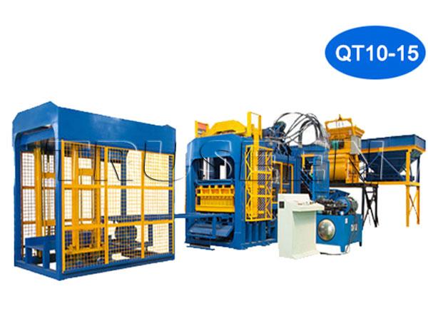 Best Selling QT10-15 Concrete Block Making Machine