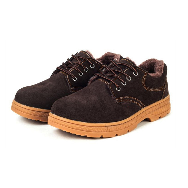 Low Cut Warmly Winter Industrial Safety Shoes Boots