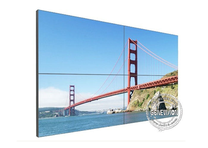 LCD Digital Signage Video Wall Ultra Narrow Bezel HD ,