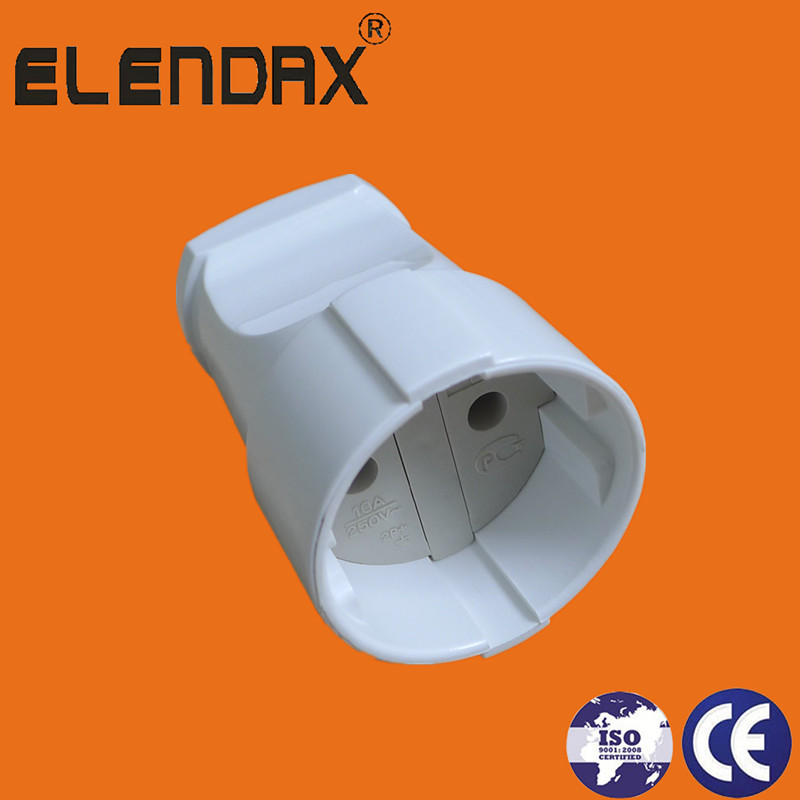 EU White 250V Female Plug(P8062)
