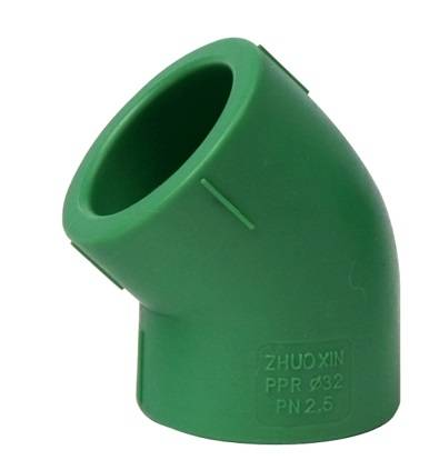 Hdpe PPR 45deg Elbow Compression Tube Fittings