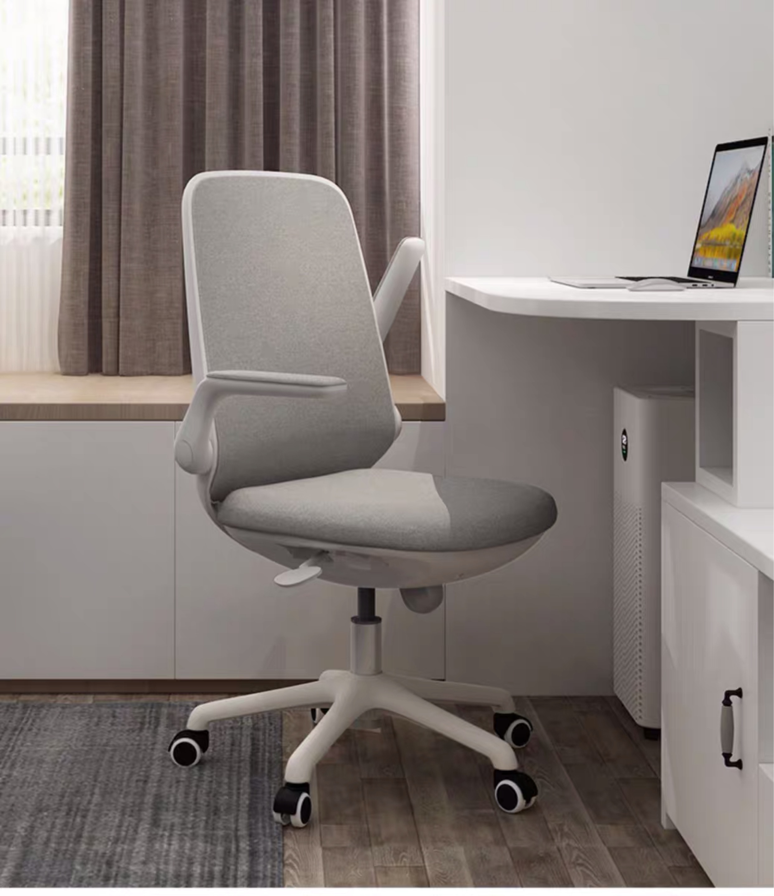 office chair-staff chair-mid back chair-design chair-project chair-chair project-foldable arm chair