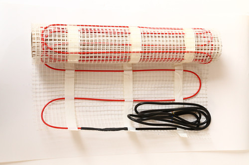 Single Conductor Heating Cable Mat Floor Heating System