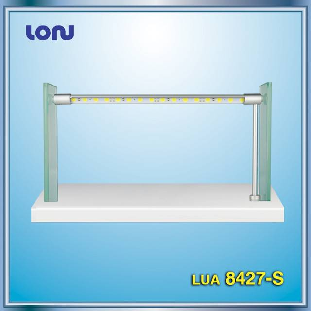 LUA8427-S Rotating LED bar, LED Showcase Lights, LED Cabinet Lights