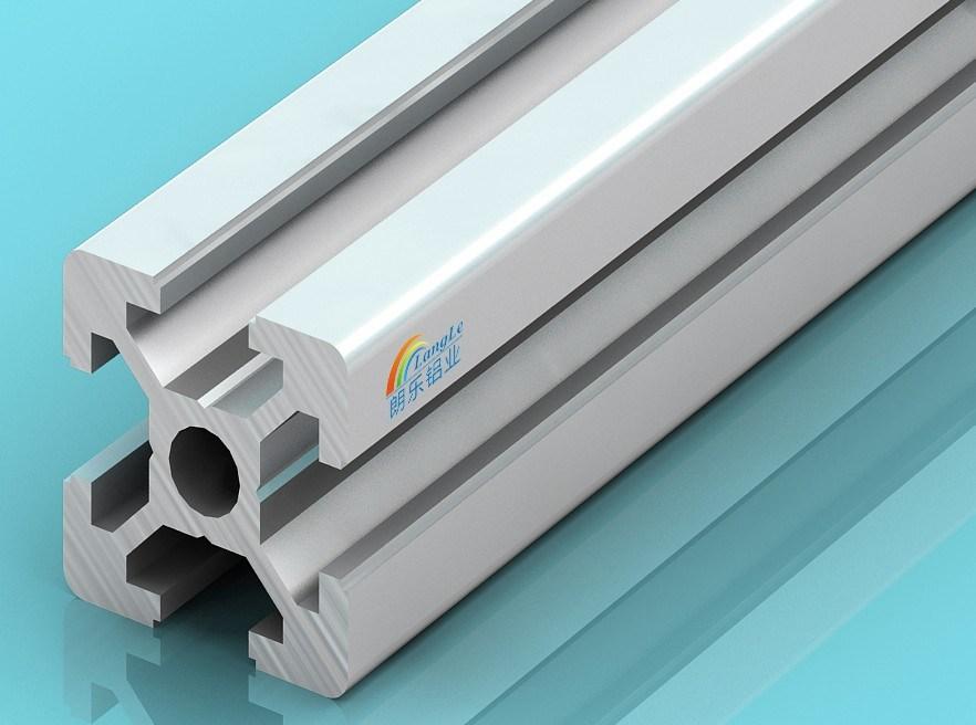 Best Price 6mm Slot Le-6-2020 Industrial Aluminium Profile