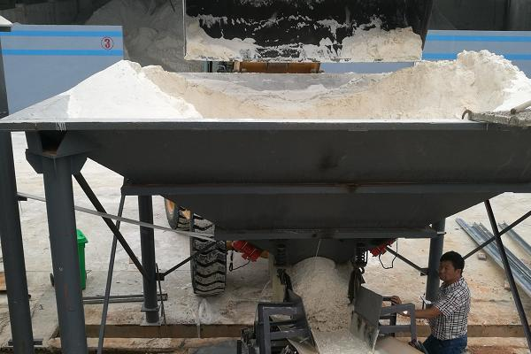sand processing and washing plant