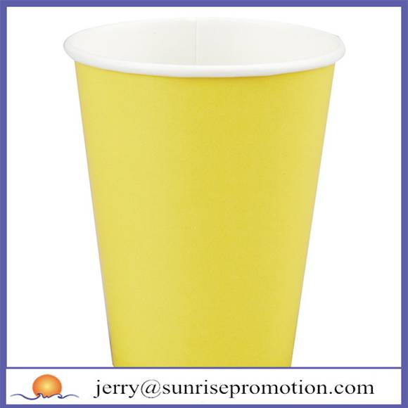 Cheap single wall 12oz paper cup
