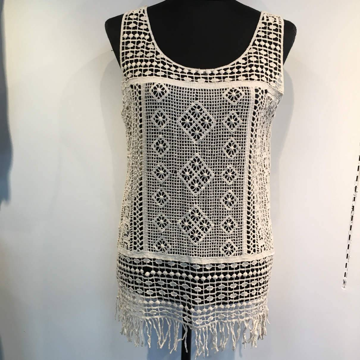 2016 women lace crochet
