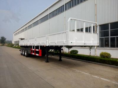 Three axles cargo semi trailer