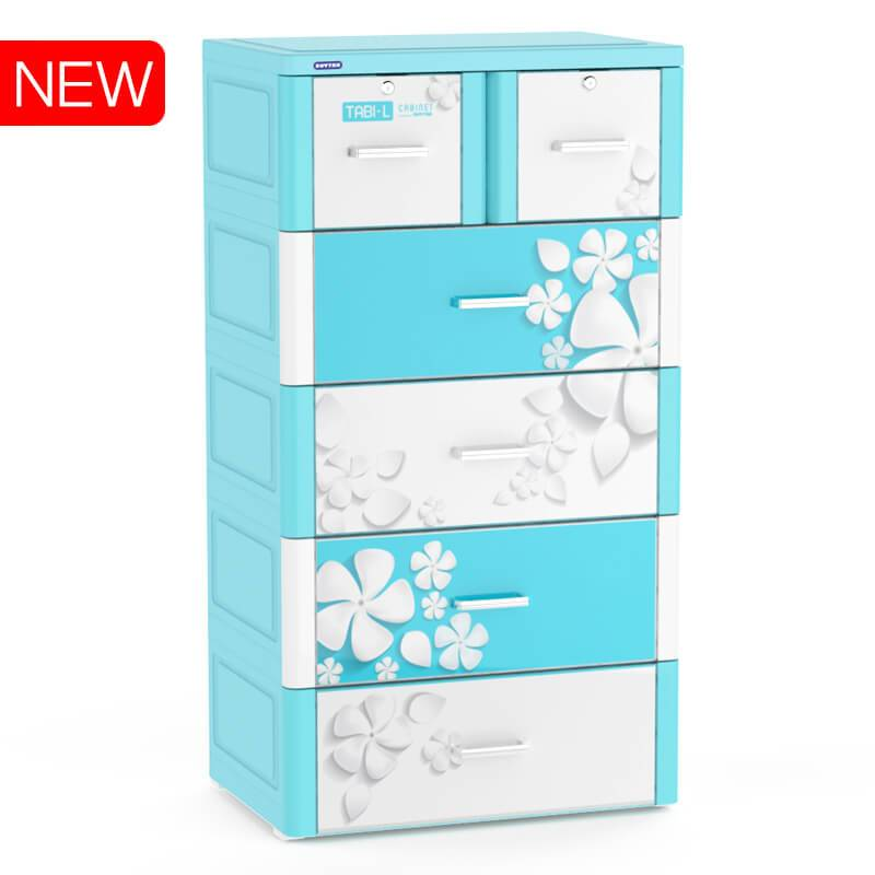 Plastic Children clothing cabinet closet drawer for bedroom living room-Duy Tan Platics Vietnam