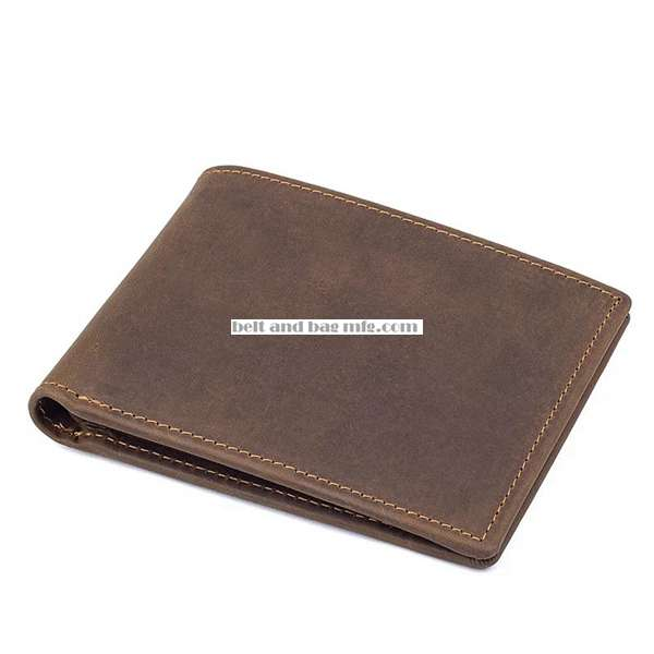 RFID Leather Wallet QB-010