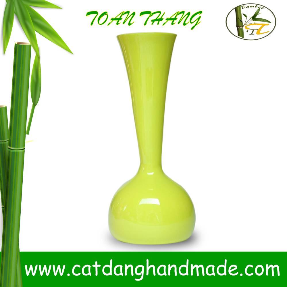 2016 fashionable bamboo vase, decorative bamboo vase(Skype: jendamy, whatsapp/viber: +84 914542499)