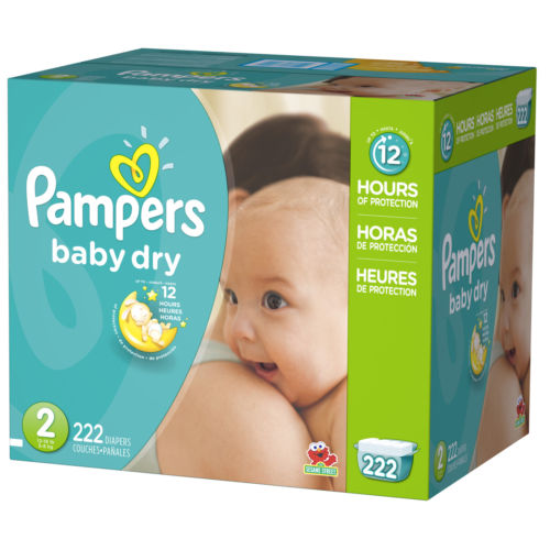 All in sizes Baby Diapers Pampers Economy Pack