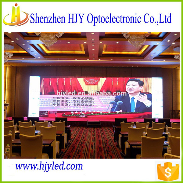 HD P3 Indoor Full Color LED Display for Conference
