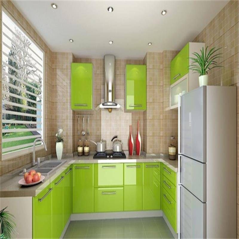 Lacquer  kitchen cabinet kitchen furniture