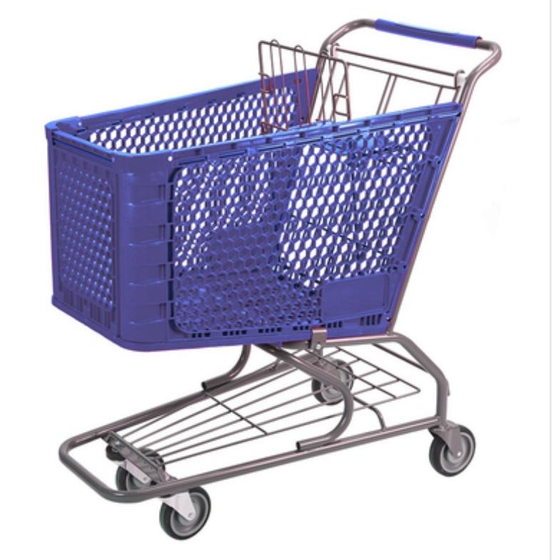 Plastic Shoppig Trolley