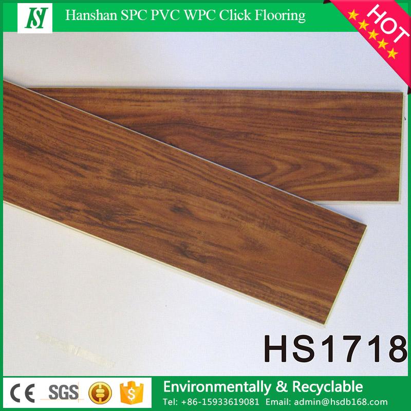 Laminate Waterproof Wood Grain PVC Vinyl Flooring for Interior Decoration