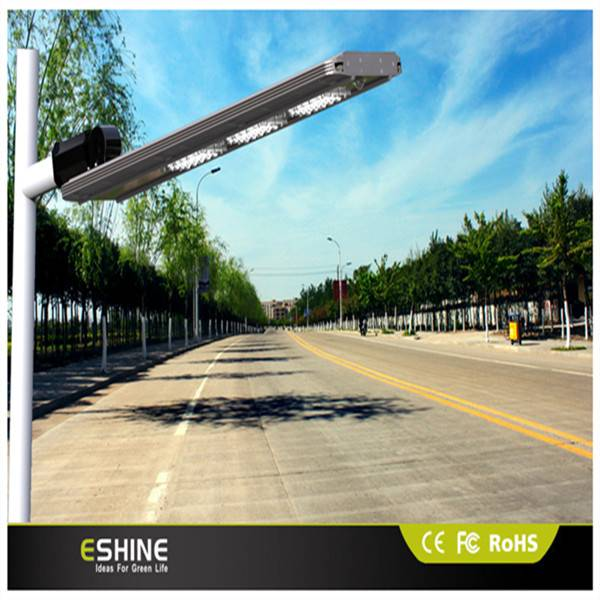 22w Integrated solar outdoor street light for projections