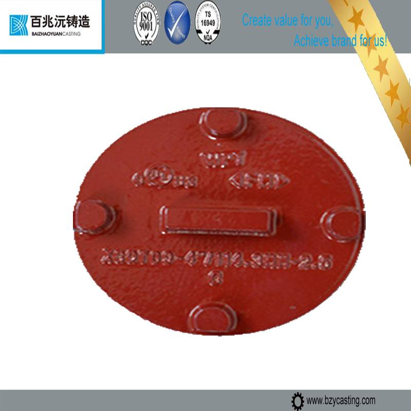 FM/UL Listed galvanized Ductile Iron pipe end Cap