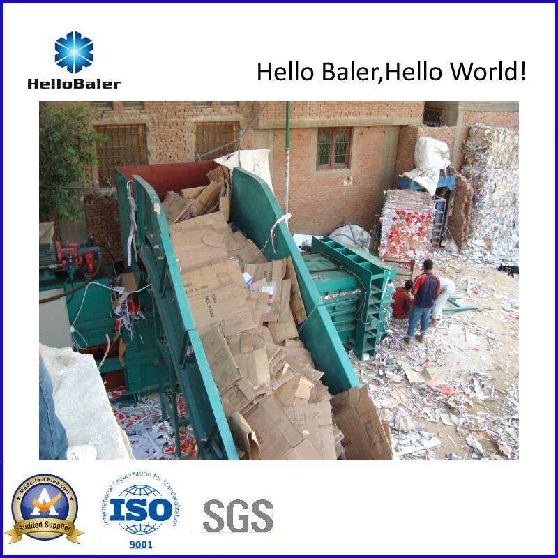Semi-Automatic Hydraulic Baler with 1000kn Pressing Force (Hsa4-6)