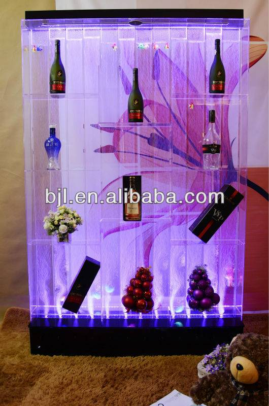 dancing bubble fountain wine cabinet