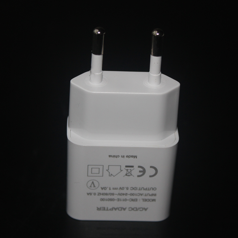USB Wall Charger Adapter, 5V/1A Power Adapter Universal Travel Charger USB Plug(CE FCC Certified)