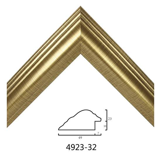 Gold Picture Frame Mouldings 4923 On Sale