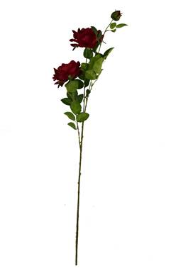 SF01534 Floral style for home decors,2-head artificial rose