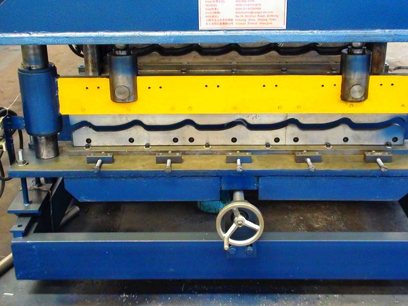 Beautiful double layer roll forming machine