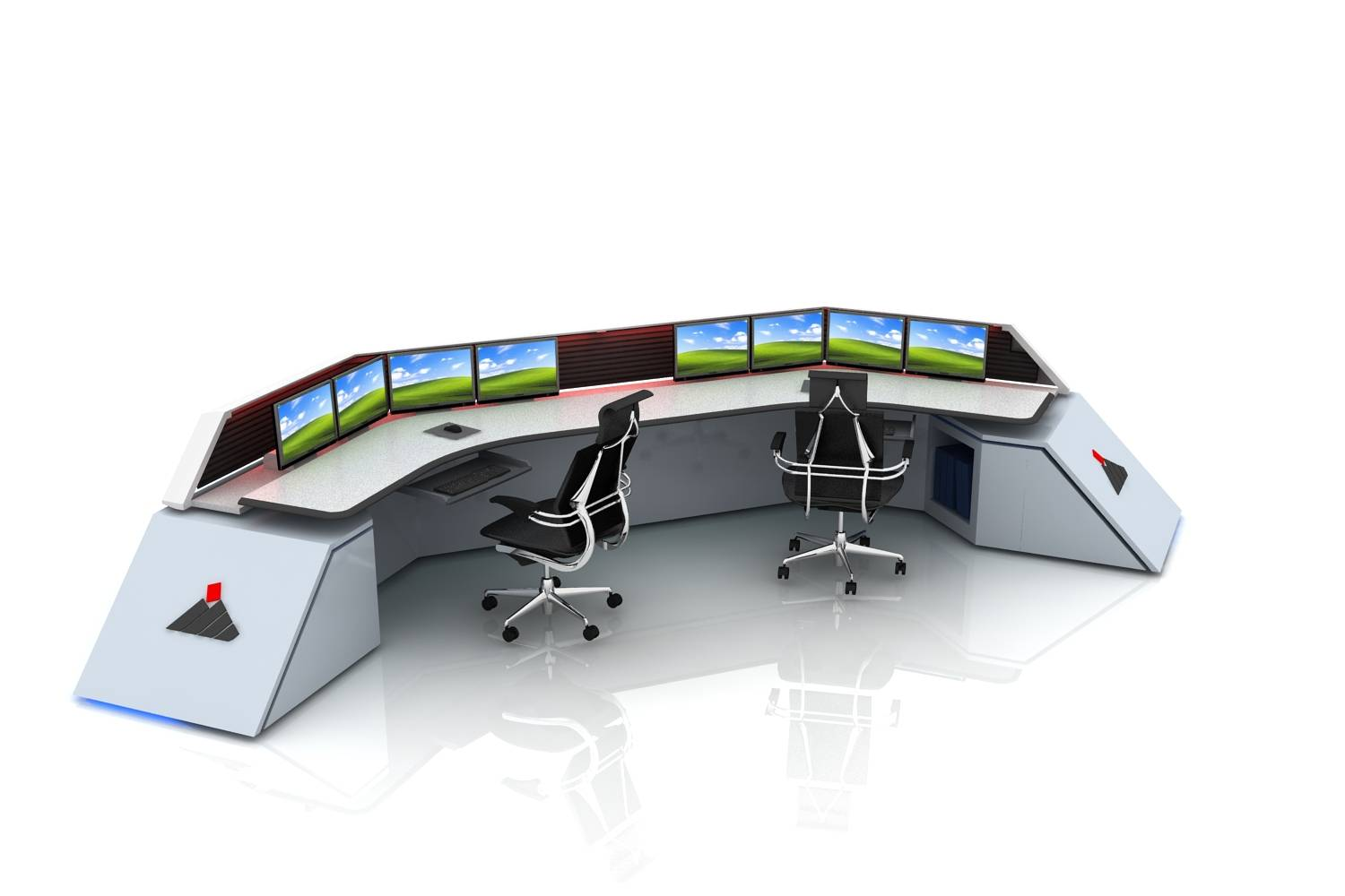 New Sit-to-Stand Control Desk