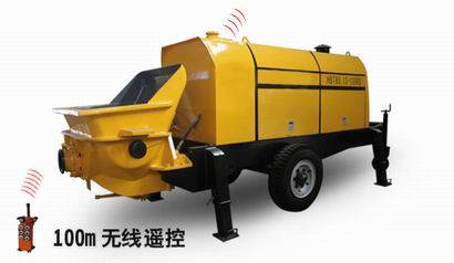 HBT Series Small Diesel Trailer Concrete Pump