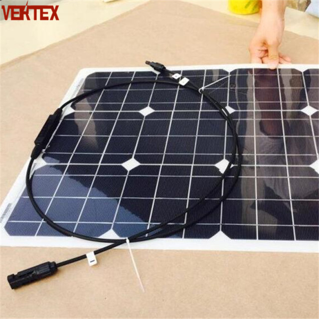 Factory Supply 50W 100W Mini Thin Film 250W ETFE Flexible Solar PanelWith Best Price From China