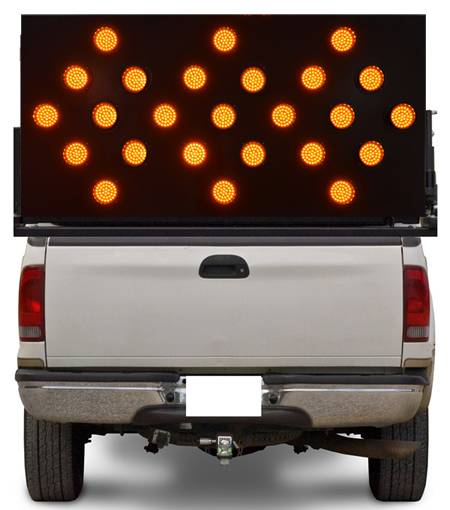 Vehicle Mounted Traffic LED Arrow Board