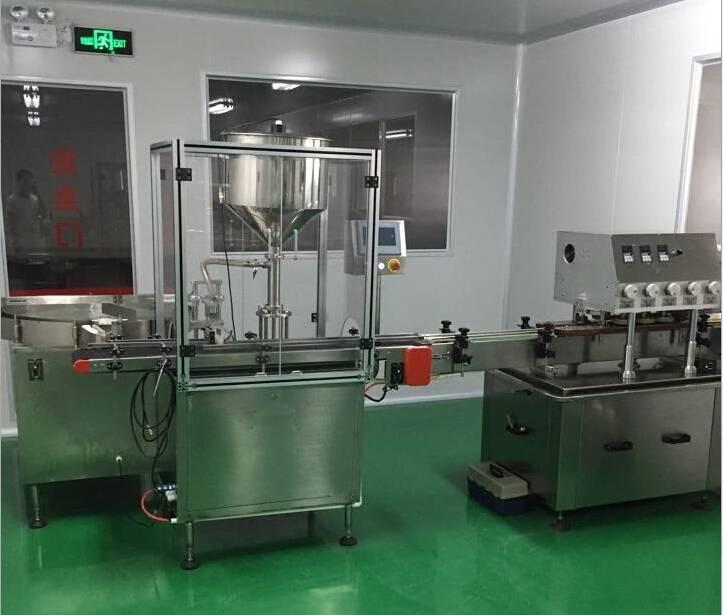 small bottle liquid filling machine price guangzhou automatic packing machine