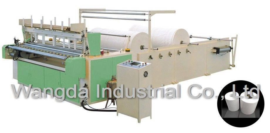 Full Auotmatic Toilet Paper Machine