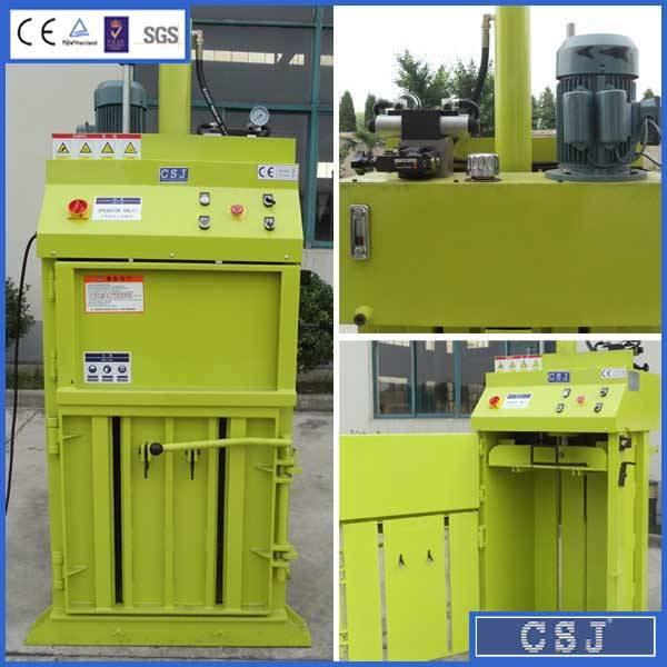 Mini Vertical Hydraulic Waste Baler