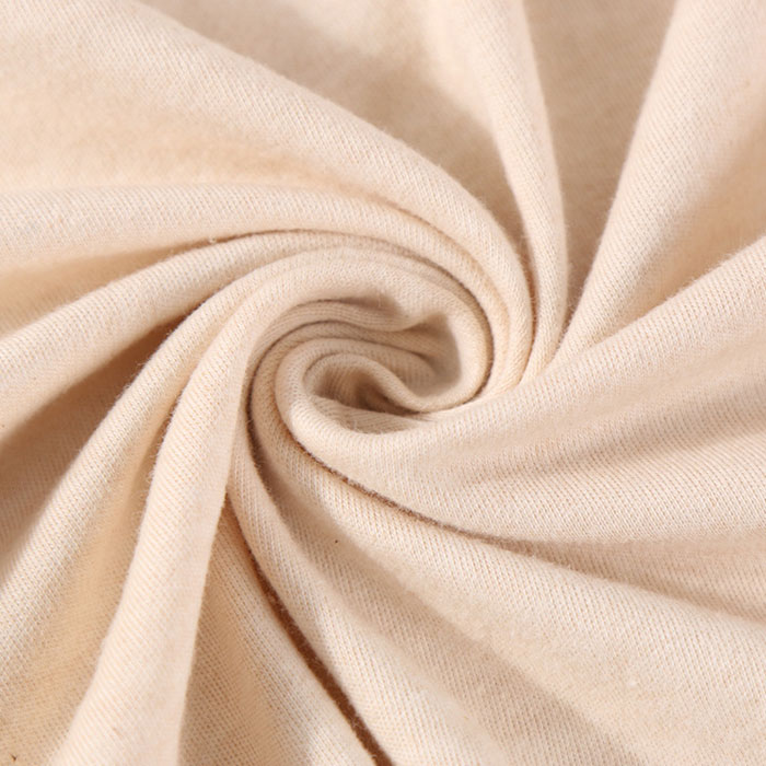 Cotton Fabric In Light Brown