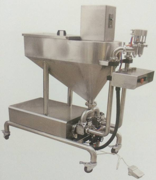 Series semi-automatic dense catsup Filling Machine