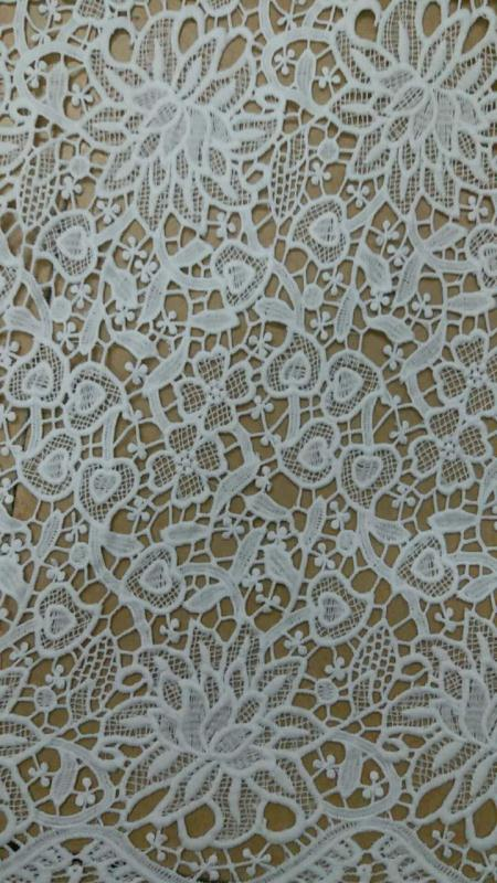 chemical lace/water soluble lace for lady's garment