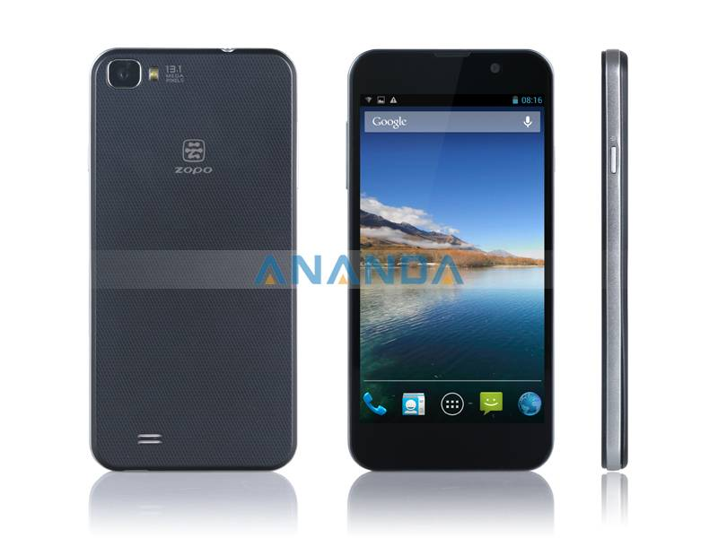 5 inch MTK6589,Quad Core Android 4.2 WCDMA/ GSM Dual SIM Mobile Phone ZOPO C2