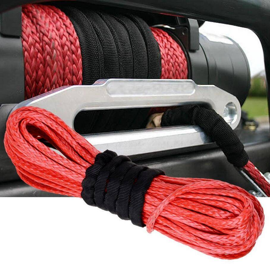 synthetic winch rope winch cable 4X4/UTV/ATV/JEEP