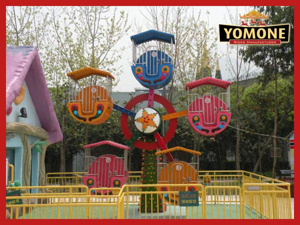 Yomone China supply newest amusement park rides mini ferris wheel for sale