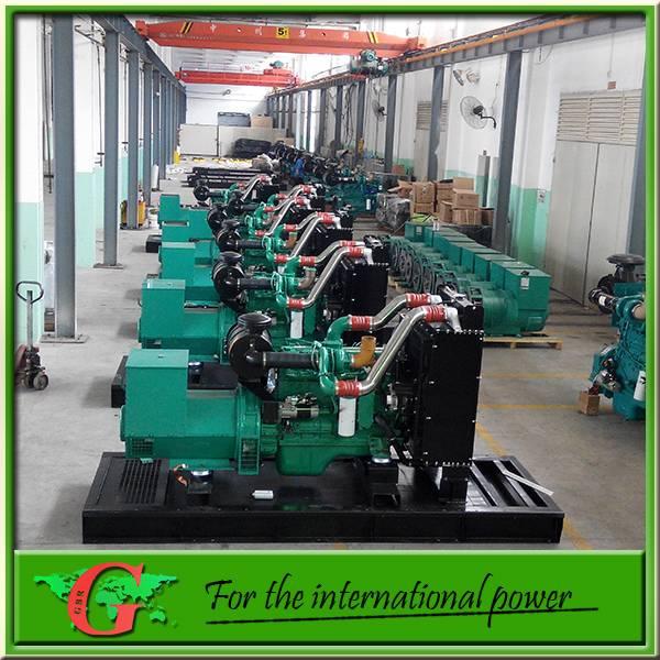 50Kw silent diesel generator Cummins engine 60Hz 110v/220v