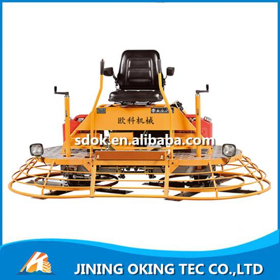 China driving type floor power trowel machine	bricklayer floor power trowel machine