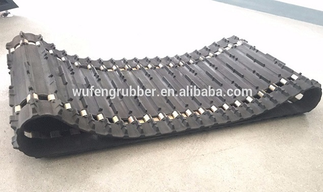 snowmobile rubber track