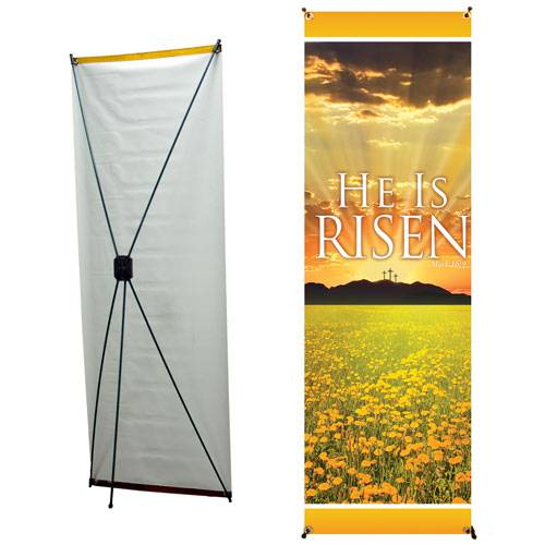 X banners stand